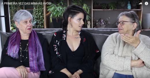 Sem tabu: youtuber faz vídeo e desvenda a primeira vez de suas avós