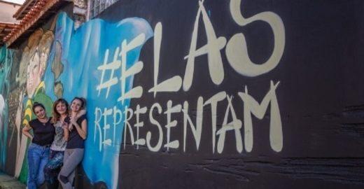 Seleção brasileira ganha homenagem em mural de graffiti em SP