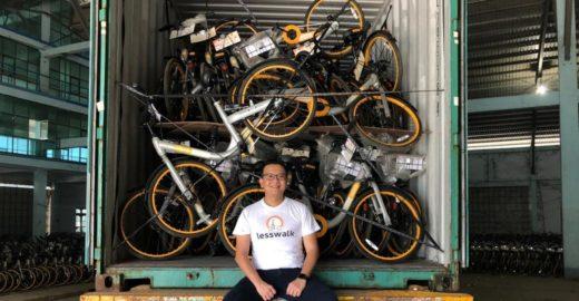 Empresário compra 10 mil bikes que iam para o lixo e doa a jovens