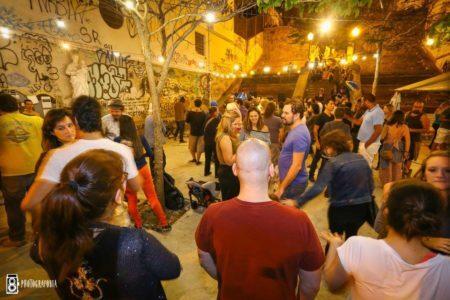 Bandas e DJs se alternam em apresentações no Escadaria do Jazz