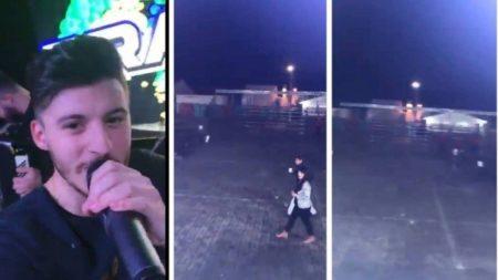 Trecho do vídeo postado pelo cantor sertanejo Gabriel Smaniotto