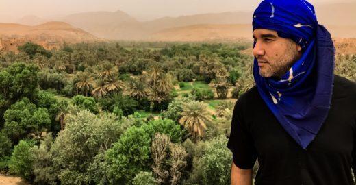 Ator Fernando Sampaio, de Jezabel, conta curiosidades sobre o Marrocos