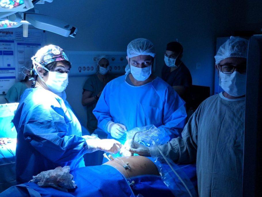 foto da cirurgia