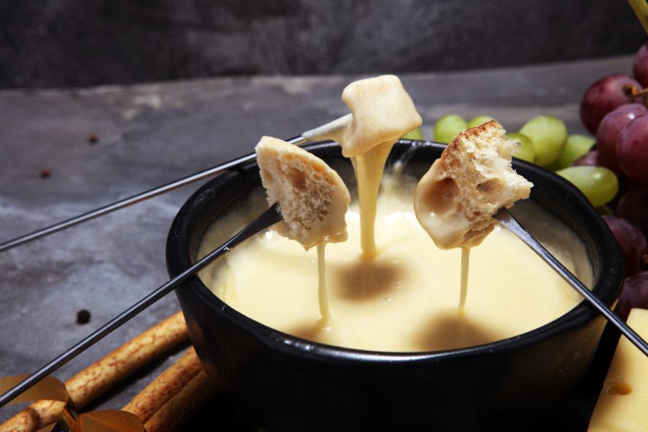 fondue vegano