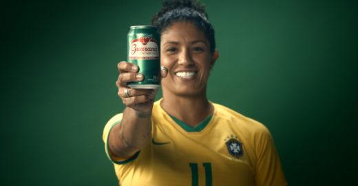 Itaú, Nike e Guaraná Antarctica apoiam seleção feminina em campanhas