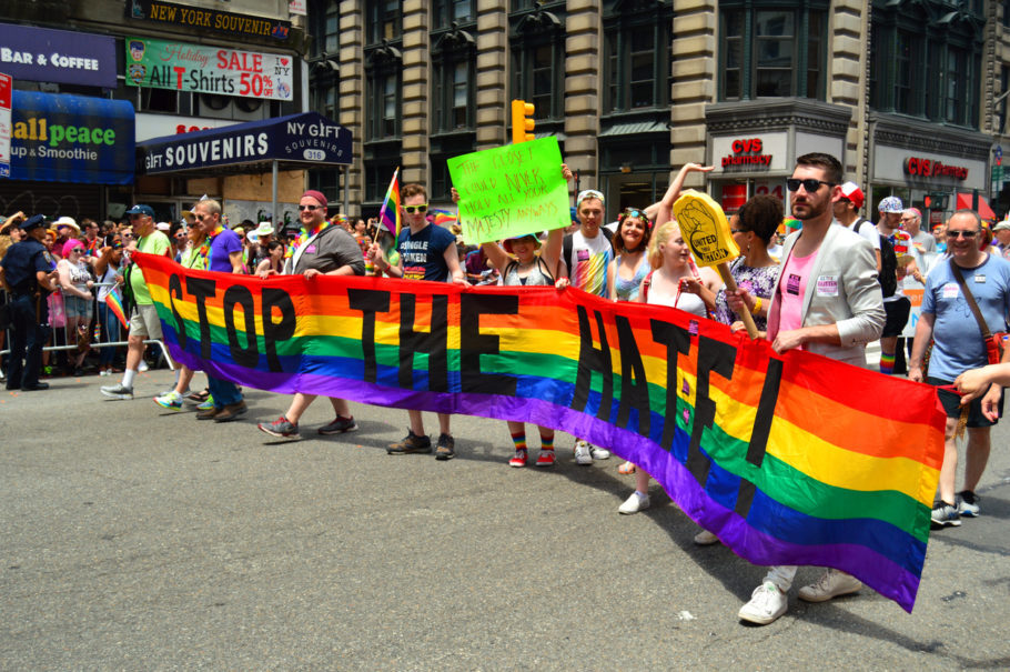 Parada do Orgulho Gay de New York e a pioneira