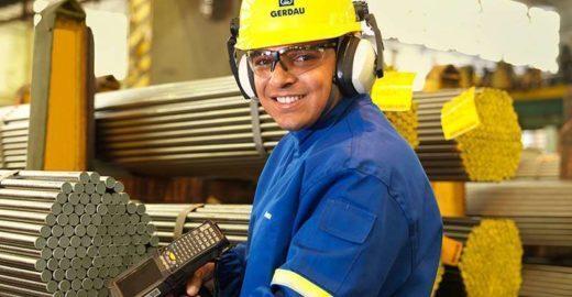 Gerdau abre 90 vagas de estágio em 8 estados