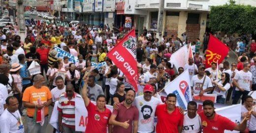 Greve geral: 26 estados e DF registram protestos e paralisações
