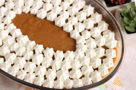Chandelle de caramelo caseiro