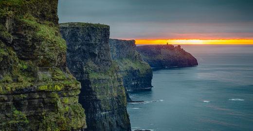 Conheça os impressionantes 'Penhascos de Moher', na Irlanda