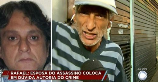 Ao vivo, Bacci é xingado pelo irmão do assassino de Rafael Miguel