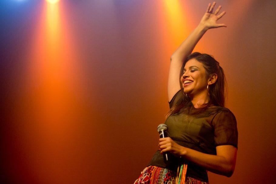 Flávia Bittencourt é um dos convidados para o Viva Dominguinhos!