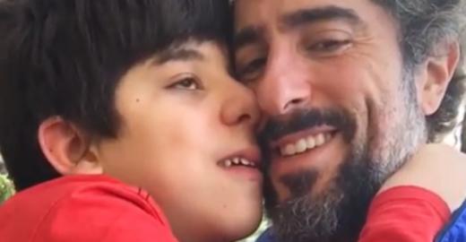O discurso forte de Marcos Mion sobre autismo no aniversário do filho