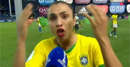 Marta faz desabafo emocionante após eliminação do Brasil