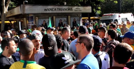 MBL e Direita-SP se enfrentam em ato pró Moro por causa de Bolsonaro