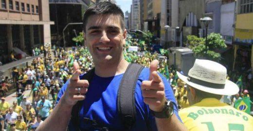 Fã de Bolsonaro, MC Reaça espancou a amante antes de se matar