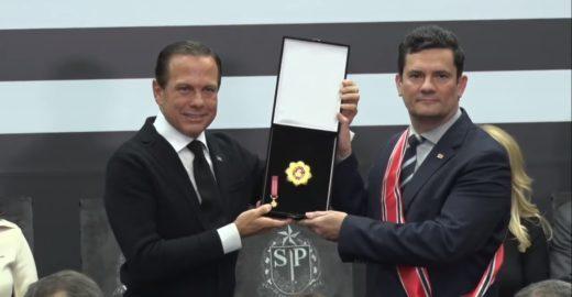 Brasil precisa de mais Moros e de menos Lulas, diz Doria