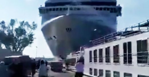 Acidente com navio em Veneza reacende debate sobre turismo de massa