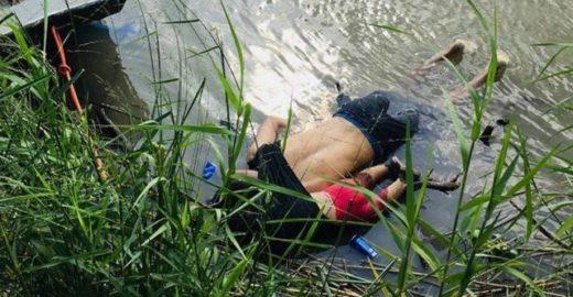 Foto de pai e filha mortos na fronteira dos EUA choca o mundo