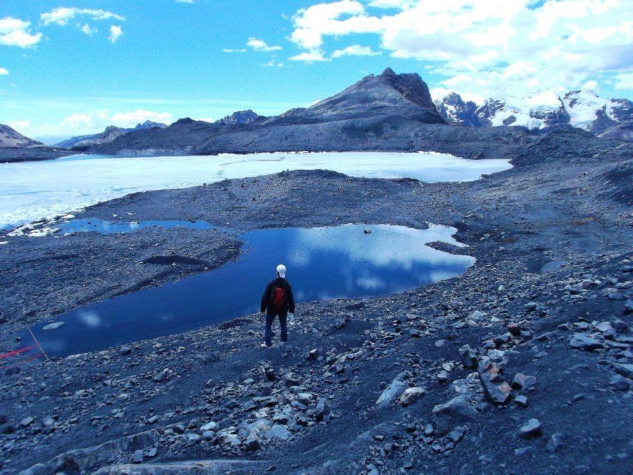 Vista para o Glaciar Pastoruri