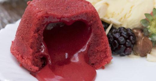 Petit gateau Red Velvet: aprenda a receita