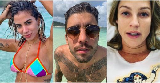 Saiba tudo sobre a treta entre Luana Piovani, Pedro Scooby e Anitta