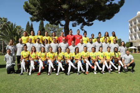 Seleção Brasileira Feminina tenta seu primeiro título na Copa do Mundo Feminina, que acontece na França, em 2019
