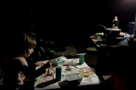 jantar no camping