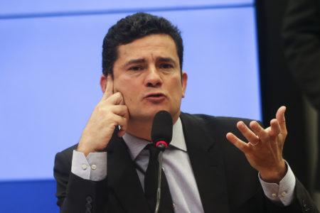 Ministro da Justiça e Segurança Pública Sérgio Moro