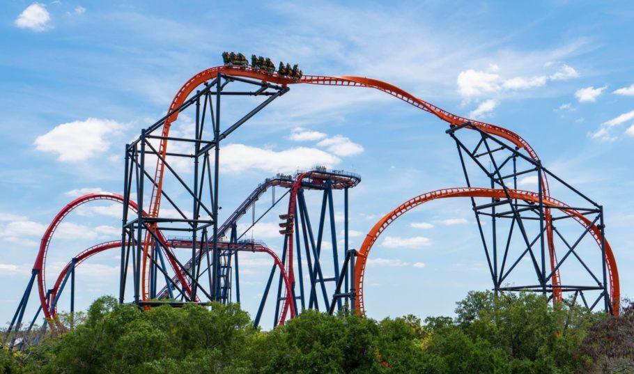 A nova montanha-russa Tigris