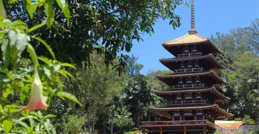 Torre de Miroku: conheça a maior torre japonesa do Brasil
