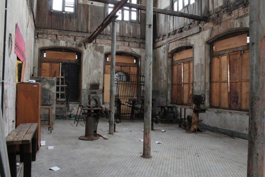 Antiga fábrica de chapéus e sapatos da Vila Maria Zélia