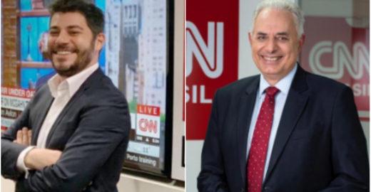 Evaristo Costa e William Waack são contratados pela CNN