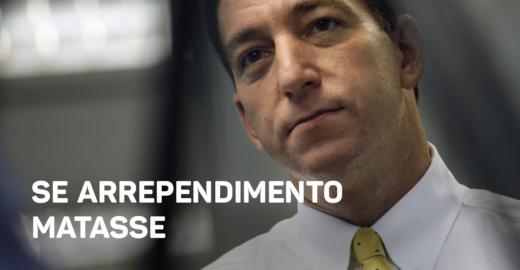 Bancada do PSL paga mico ao convocar e desconvocar Glen Greenwald