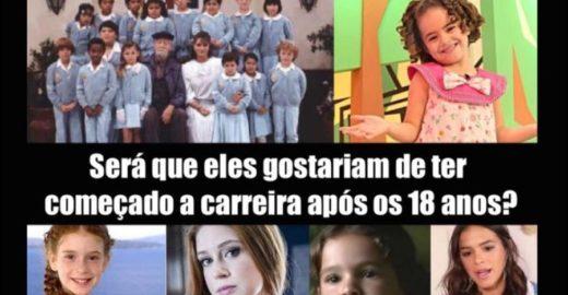 Eduardo Bolsonaro usa foto de artistas para defender trabalho infantil