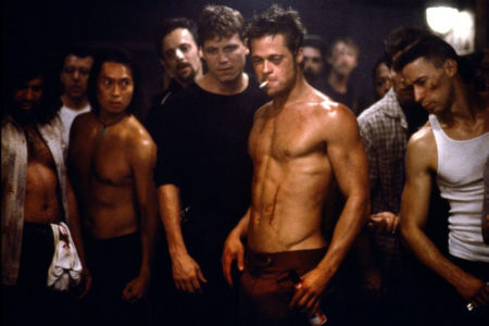 cena do filme o clube da luta