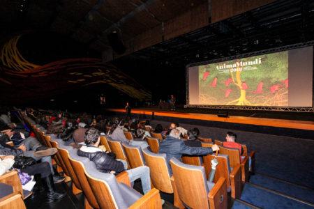 sala de cinema cheia na edição de 2018 do anima mundi