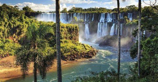 Argentina oferece vista impressionante das Cataratas do Iguaçu