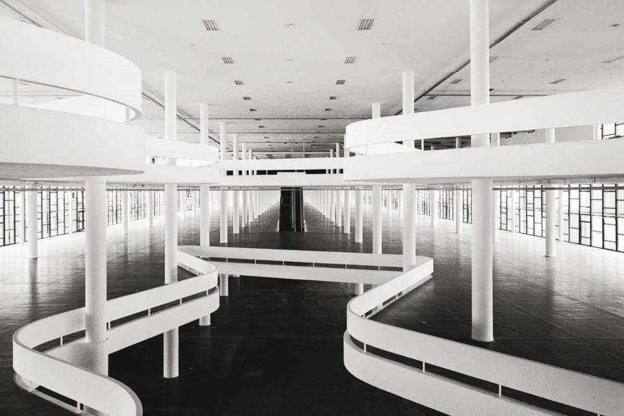 Pavilhão da Bienal de São Paulo, no Ibirapuera