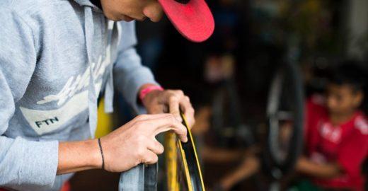 Feira arrecada bikes, peças e acessórios para formação de mecânicos