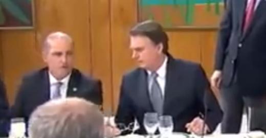 Bolsonaro critica 'governadores paraíbas' sem saber que é gravado