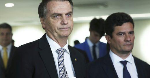 Sergio Moro já é visto como 'ingrato' por Bolsonaro