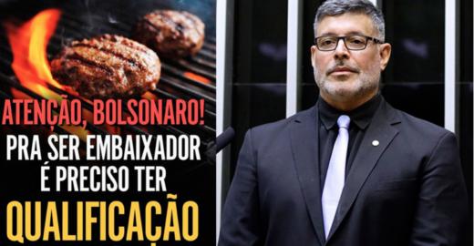 Alexandre Frota usa Vem Pra Rua para debochar de Bolsonaro e filho
