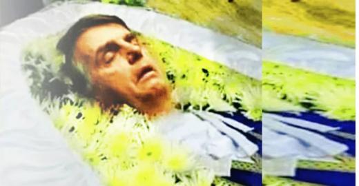 Historiador prevê o que seria escrito no dia da morte de Bolsonaro