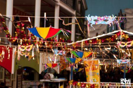 carnaval no centro de tradições nordestinas