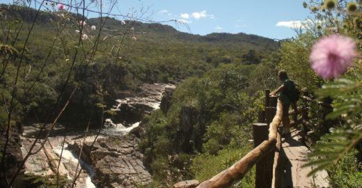 Hotel na Chapada dos Veadeiros tem vista para cachoeiras