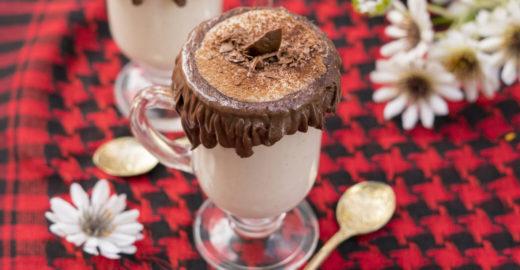 Chocolate quente de Leite Ninho com Nutella