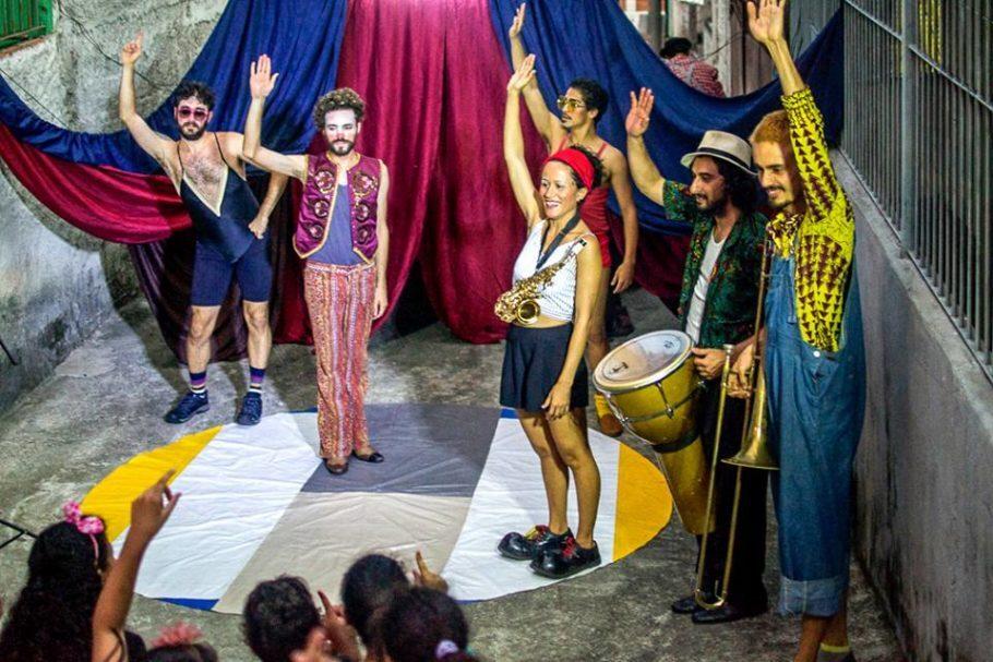 Espetáculo do Circo de Québra
