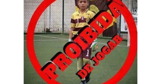 Machismo impede menina de jogar campeonato de futebol em SC