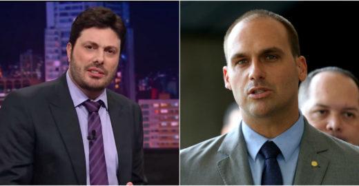 Danilo Gentili mente sobre demissão do SBT